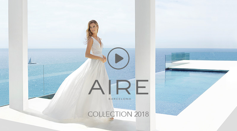 Aire Barcelona: Wedding dresses and evening gowns